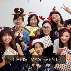 Christas Event at ONLYOU Korean Language School