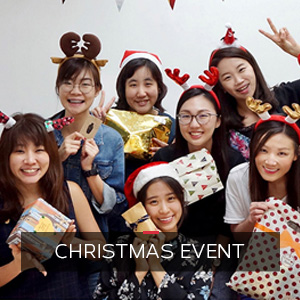 Christas Event at ONLYOU Korean Language School