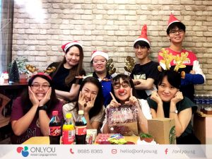 Christmas celebration - ONLYOU Korean Language School