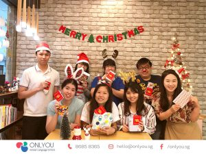 Celebrate christmas at ONLYOU Korean Language School