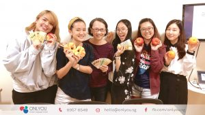 Korean beginner classes, shopping activity - onlyou korean language school