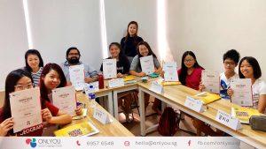 Korean Classes Singapore - Course completion