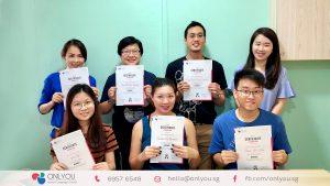 Korean Beginner class at ONLYOU Korean language school