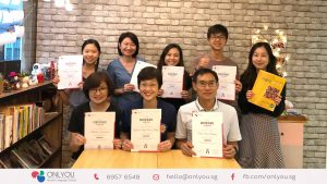 Korean classes - course completion, beginner