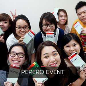 Pepero day at ONLYOU Korean Language School