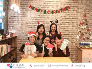 Celebrate christmas at ONLYOU Korean Language School