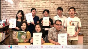 Korean class completion certificate - onlyou korean language school