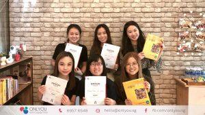 Korean class completion certificate - onlyou korean language school
