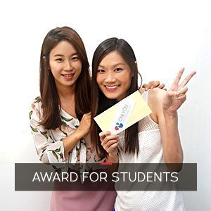 award for students in ONLYOU Korean Language School