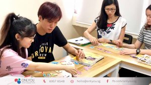 korean letters (hangeul) activity in korean class