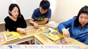 korean letters (hangeul) activity in korean class