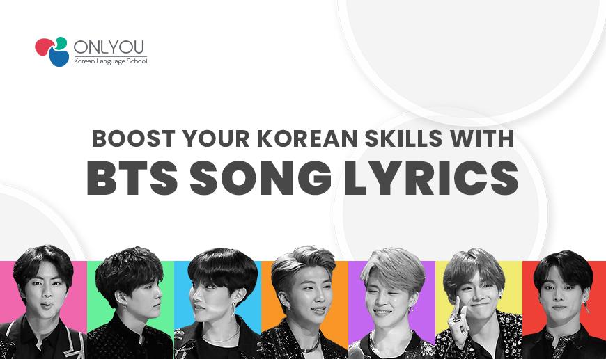 Boost Your Korean Skills With BTS Song Lyrics